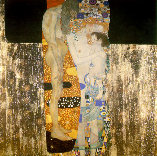 klimt three ages of woman