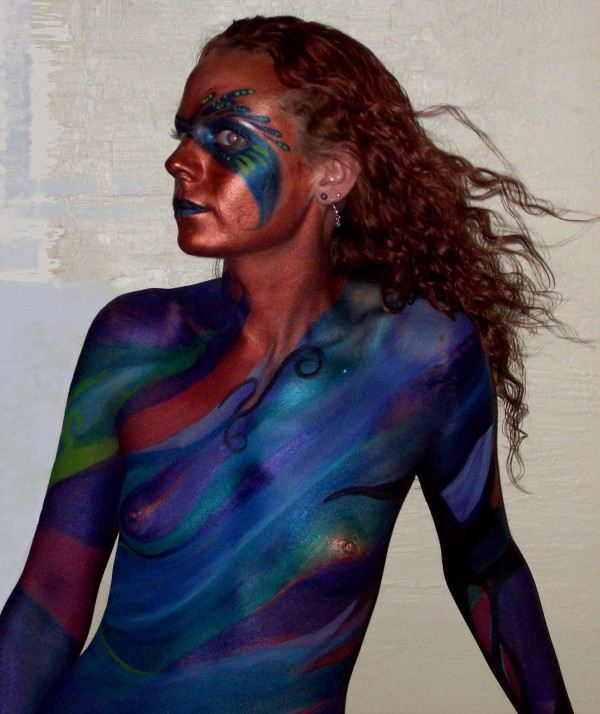 Body Painting Copper Abstract4 e1302519537613