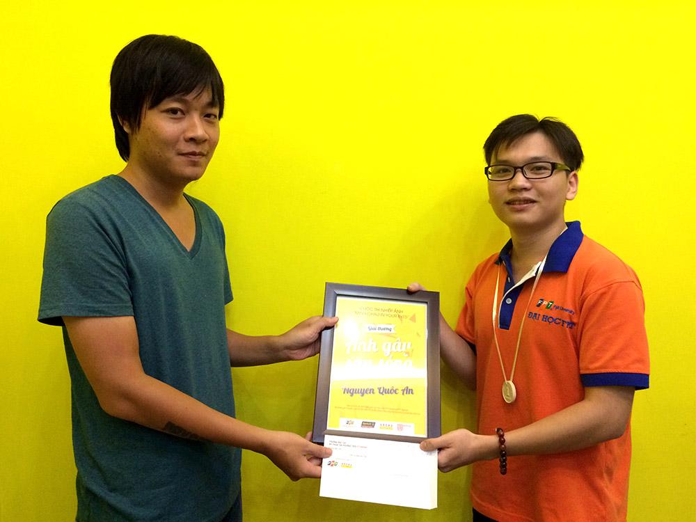 Bạn Nguyễn Quốc An đoạt giải Ảnh sóng gió và Thiên tai