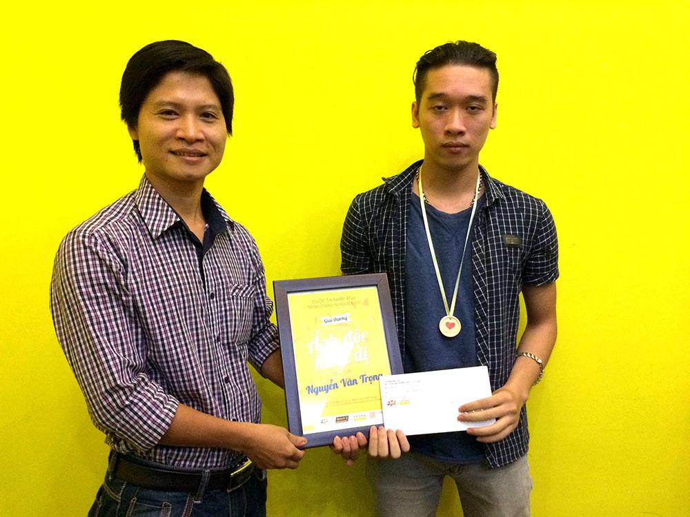 Bạn Nguyễn Văn Trọng đoạt giải Ảnh độc đáo