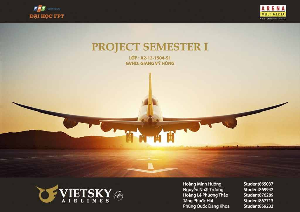 VietSky Airlines – 1504S1