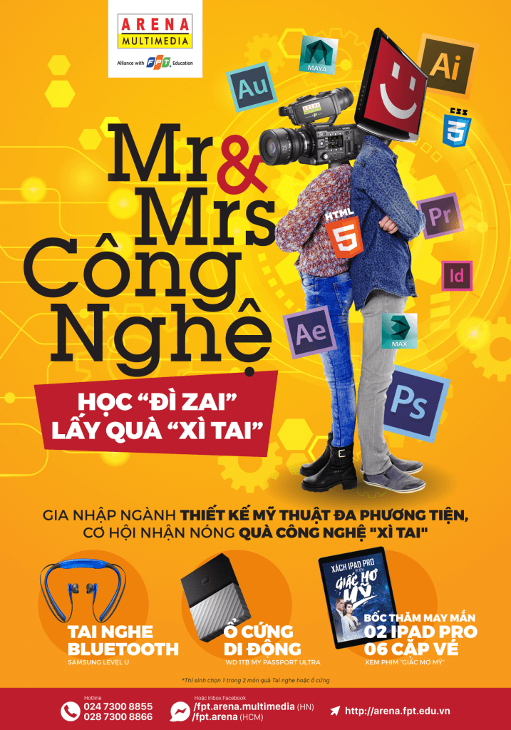 Mr-Mrs-Congnghe-fpt-arena-poster
