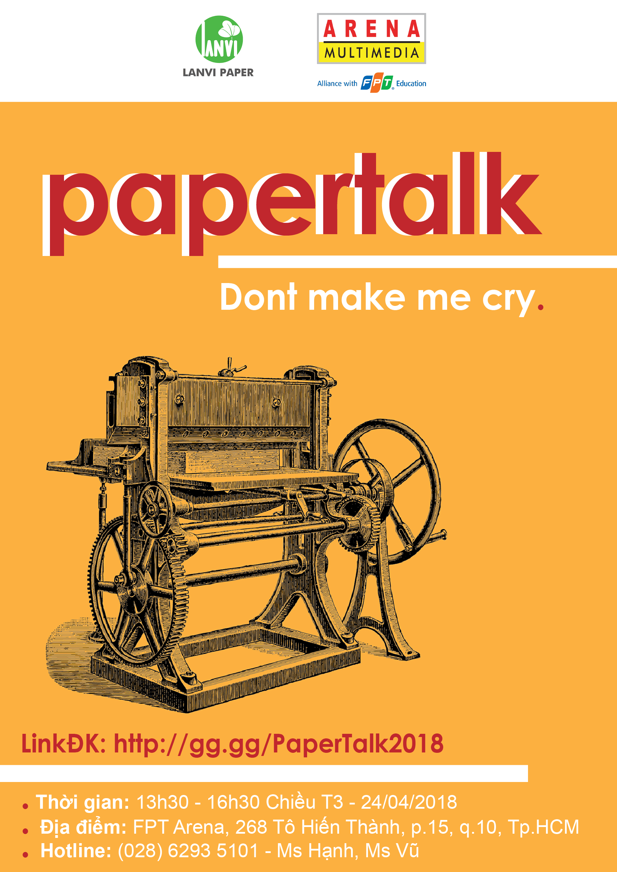 Poster Papertalk