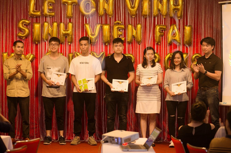 5 FANer xuất sắc tháng 7 Nguyễn Bá Điệp, Lương Lâm Quang Khải, Phạm Paul Keng, Trần Mỹ Linh, Tạ Mai Phương