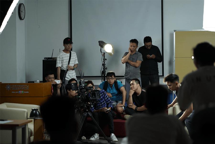 Một buổi thực hành của sinh viên FPT Arena Multimedia