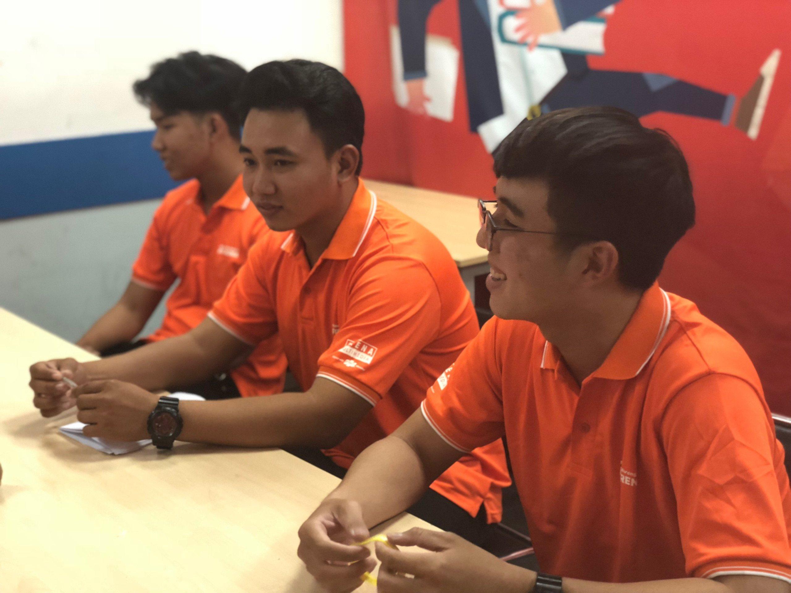Sinh viên FPT Arena Multimedia