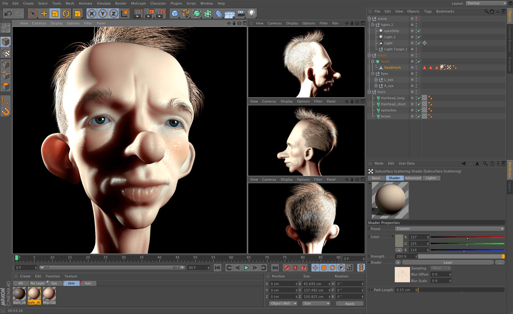 Tạo hình nhân vật 3DTạo hình nhân vật 3D
