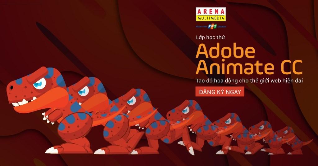 Buổi học thử về phần mềm Adobe Animate CC