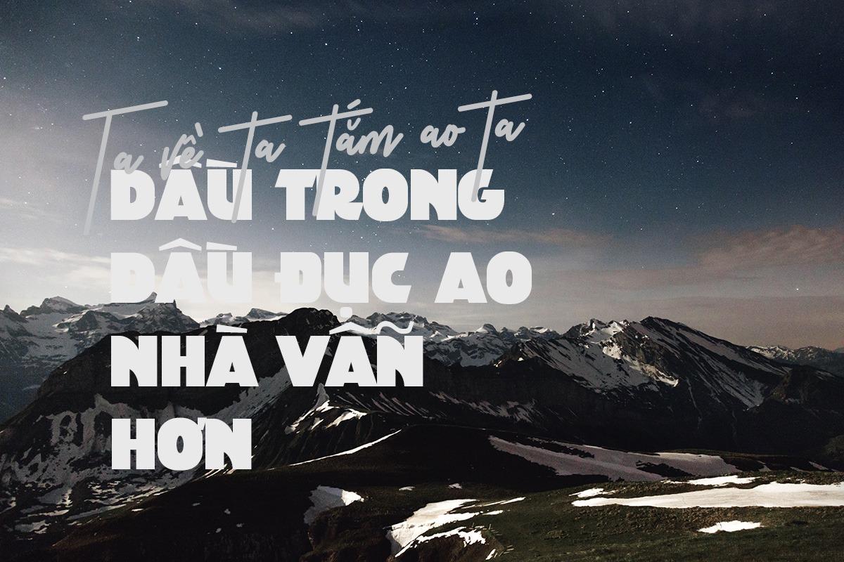 Font chữ Bold lớn và đậm