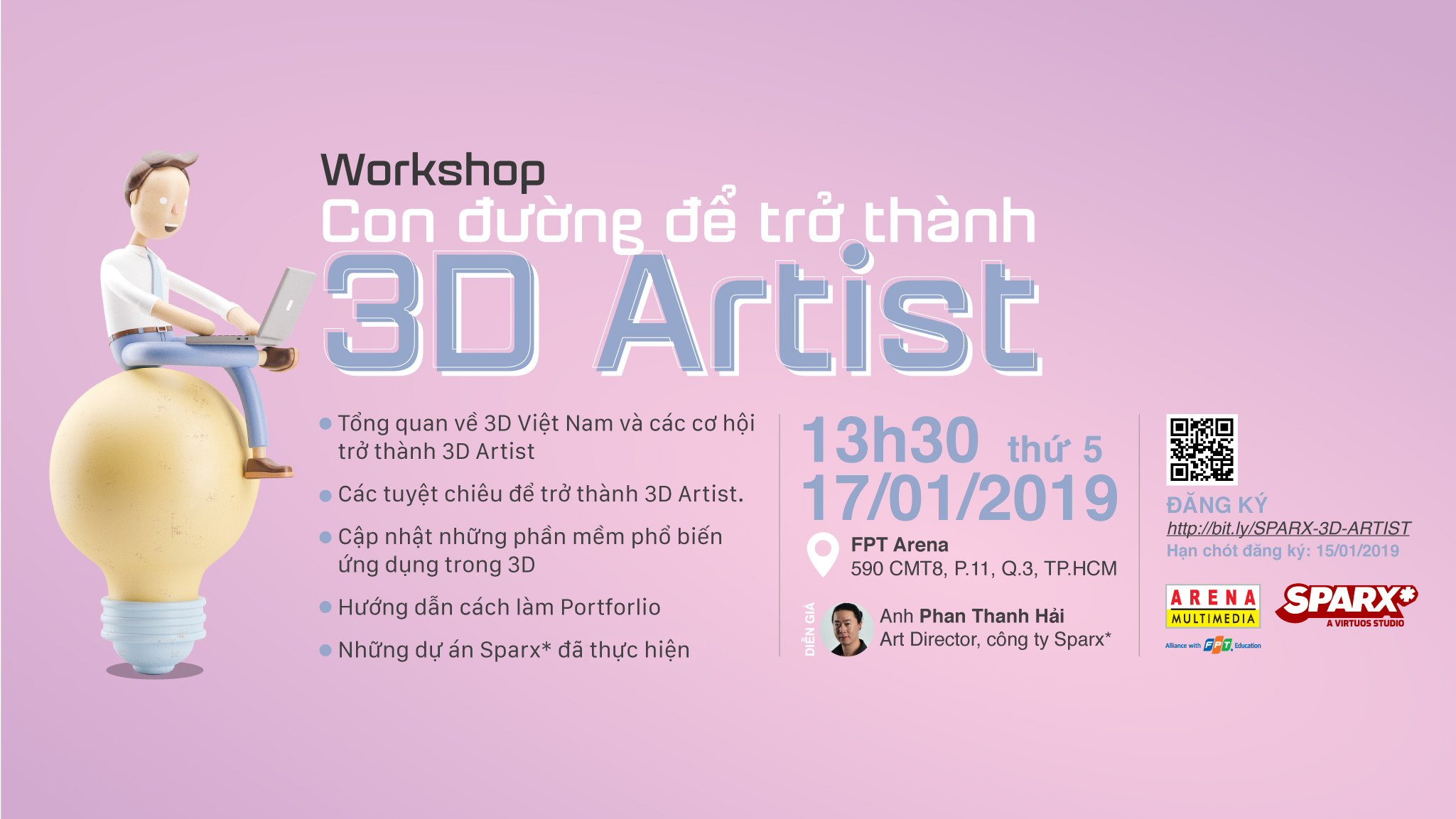 Workshop 3D Artist