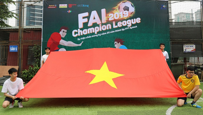 FAI Champion League 2019 - FPT Aptech - Hellơ World - 4