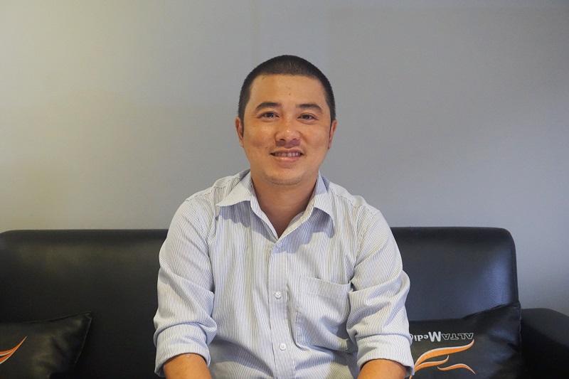 Ông Hoàng Minh Anh Tú - Phó Giám đốc Công ty Alta Media
