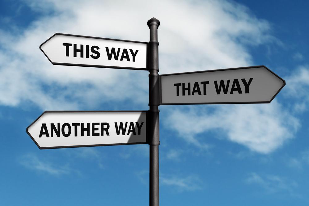 Có rất nhiều con đường để dẫn đến thành công. Việc của bạn là đừng bao giờ từ bỏ