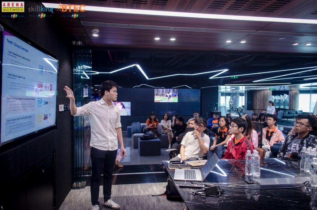 Anh Phạm Minh Tiến - Yeah1 Publishing CEO giới thiệu về hoạt động kinh doanh của YEG