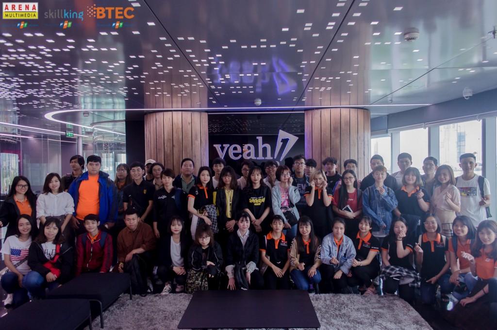 Tập thể các bạn sinh viên đến từ FPT Skillking, FPT Arena và BTEC FPT