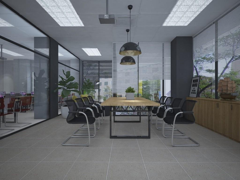 Tất cả thiết kế đều thể hiện sự chau chuốt, tỉ mỉ về thiết kế và tính tiện dụng cho mỗi chức năng của các phòng. Đặc trưng vẫn là không gian mở, sử dụng hoàn toàn chất liệu kính để chia phòng.