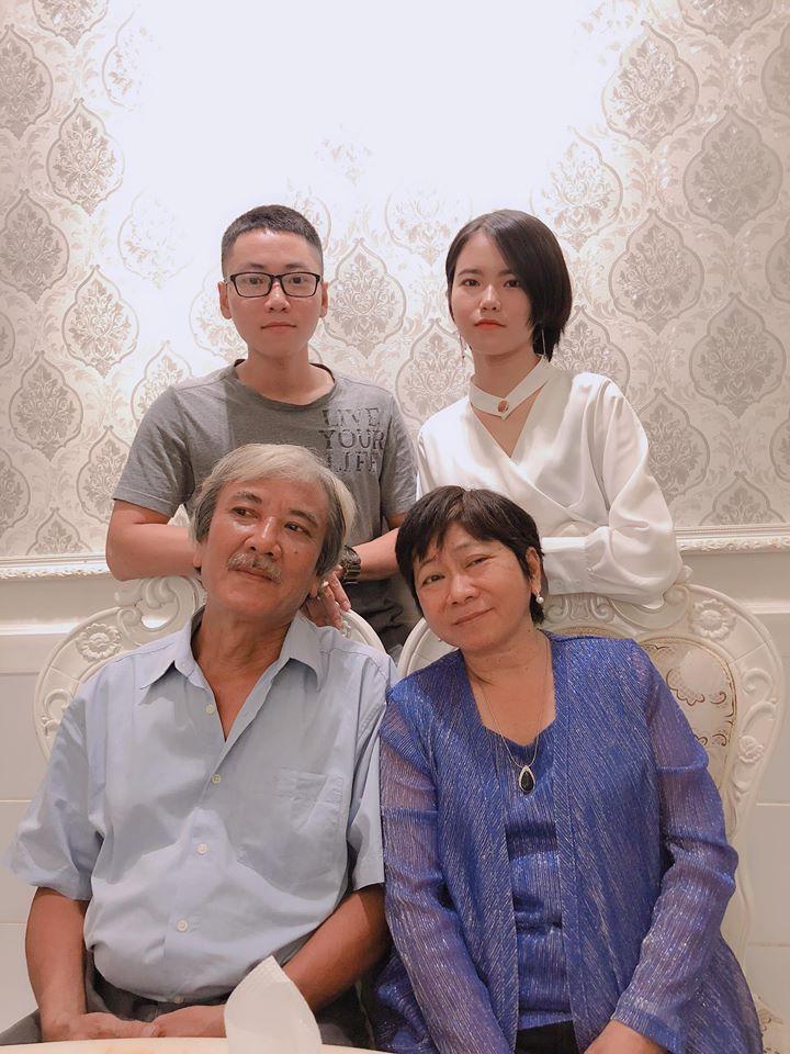 Ngoài đam mê với ngành làm phim hoạt hình, gia đình chính là tình yêu vĩ đại nhất của cậu bạn.