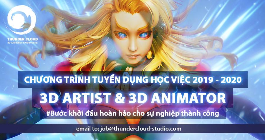 thunder cloud studio tuyển dụng - 1