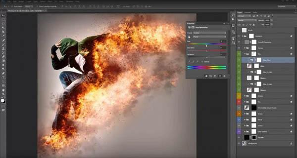 Khóa học Photoshop - Photoshop trong thiết kế đồ họa
