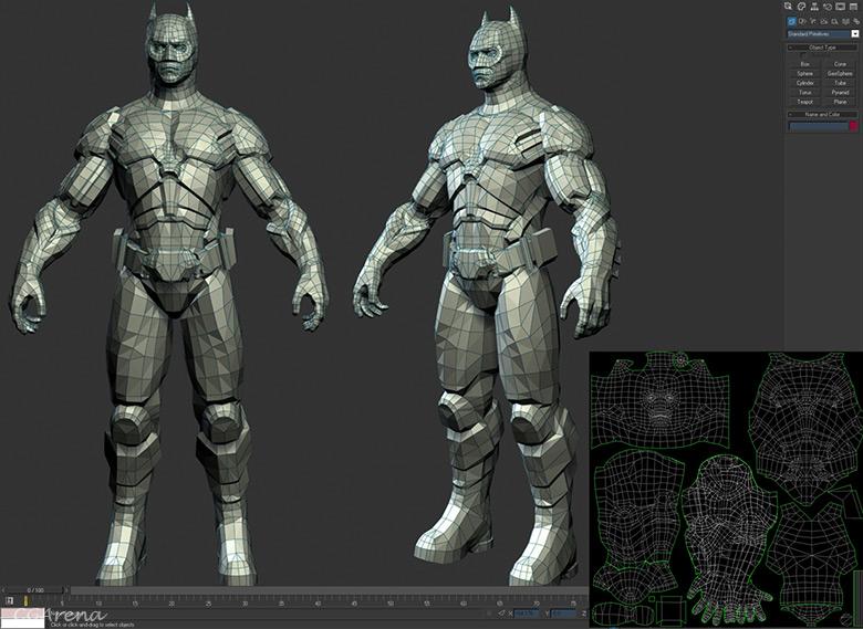 Dựng mô hình 3D cho Games