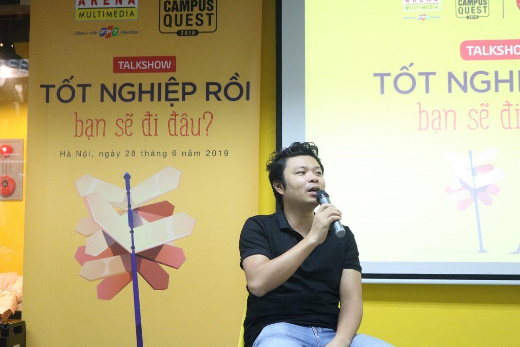 Anh Việt Johan chia sẻ về định hướng nghề nghiệp, giá trị của học cùng trải nghiệm