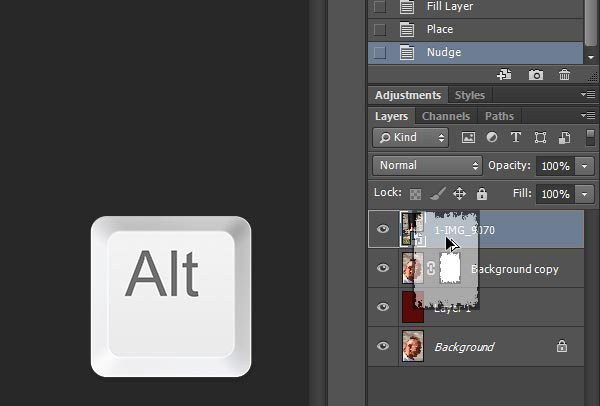 cách copy layer trong photoshop cs6