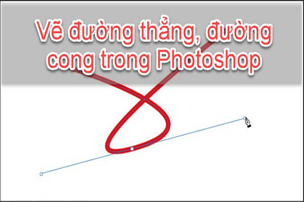 cach ve duong thang trong photoshop 5