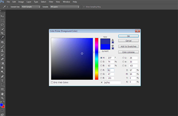 background-color-va-foreground-color-la-2-o-mau-trong-bang-color-picker