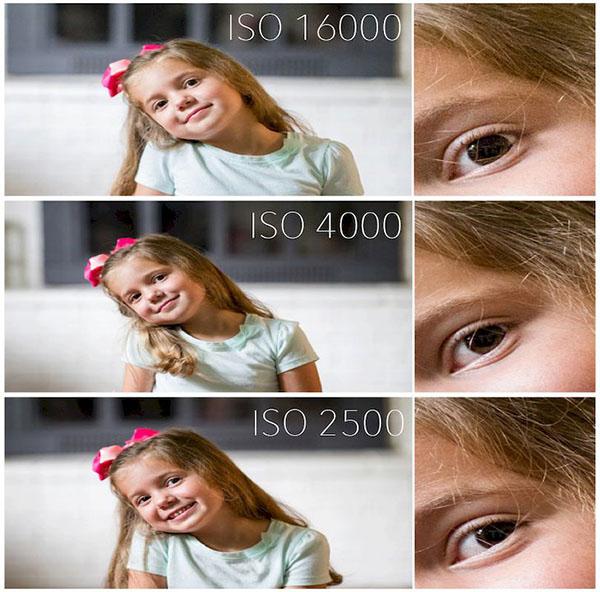 iso ảnh hưởng đến độ noise
