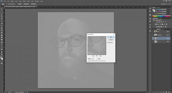 hướng dẫn khử noise trong photoshop cs6