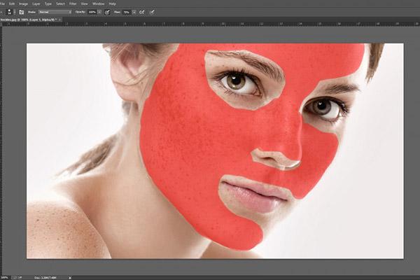 làm mịn da bằng photoshop