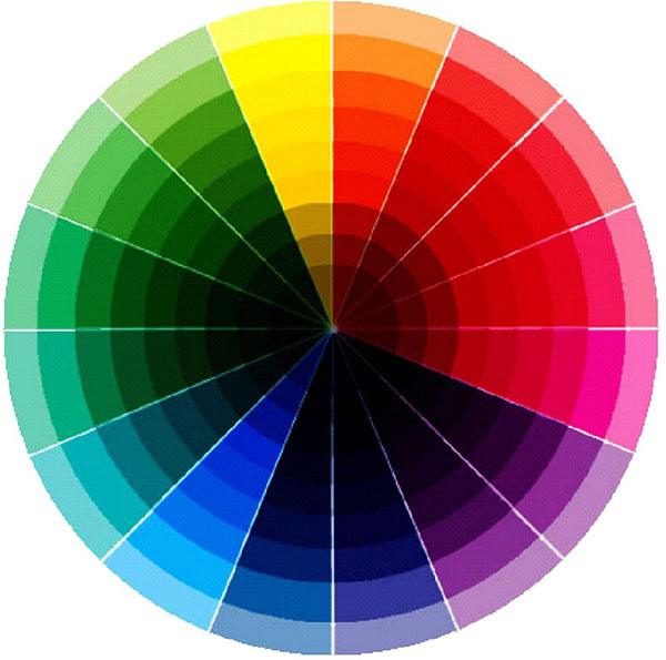 nguyên tắc phối màu trong thiết kế