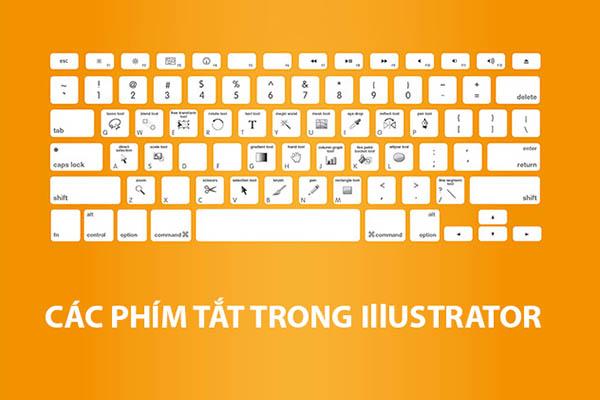 phím tắt illustrator