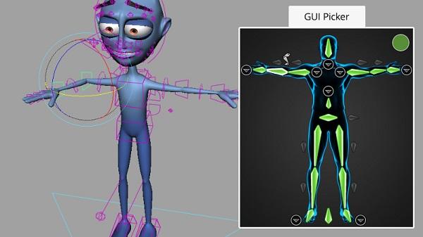 tạo xương cho vật thể - làm phim hoạt hình 3d