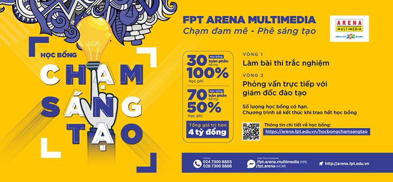 Học thiết kế đồ họa tại FPT - Arena