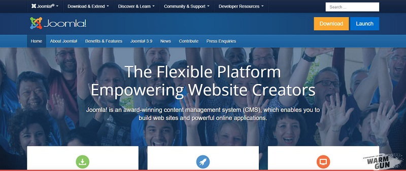 Phần mềm thiết kế web đơn giản Joola