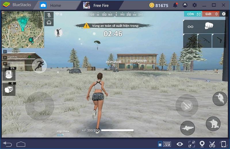 Người chơi trải nghiệm thế giới bên trong game