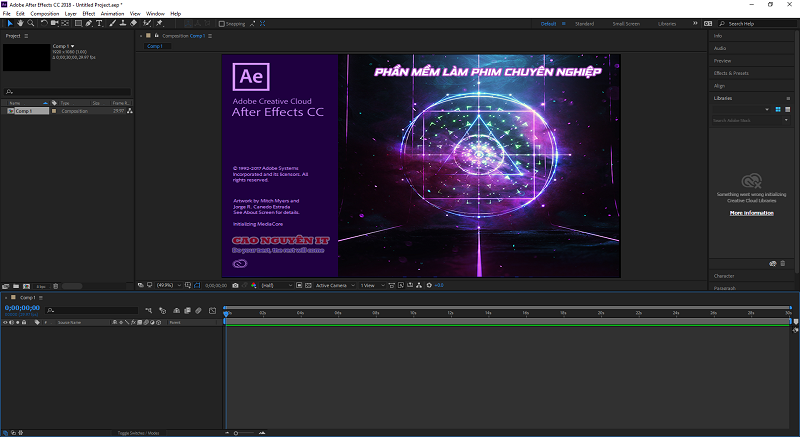 Phần mềm Adobe After Effect