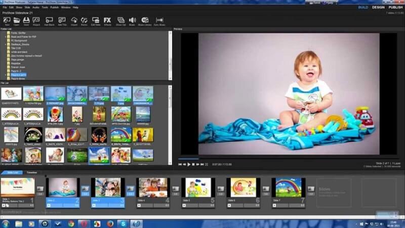 phần mềm ghép ảnh thành video