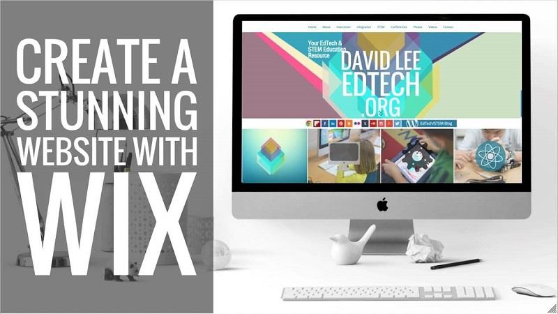 Phần mềm thiết kế web đơn giản Wix