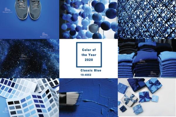 Classic Blue - Sắc xanh cổ điển lên ngôi năm 2020