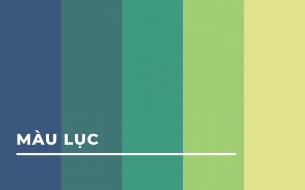 Tìm hiểu về màu xanh lục và các màu xanh cơ bản