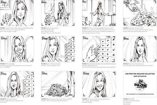 Các bước để tạo ra một Storyboard