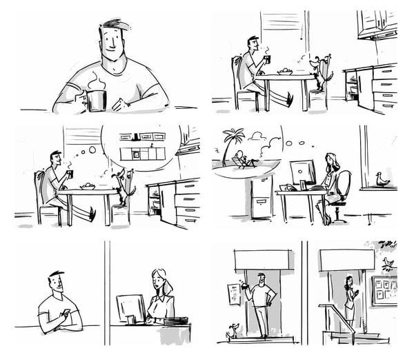 Công đoạn Storyboard