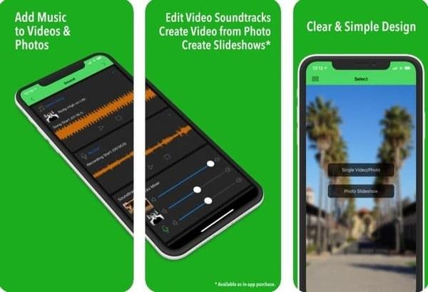 Ứng dụng ghép nhạc vào video trên Splice Video Sound