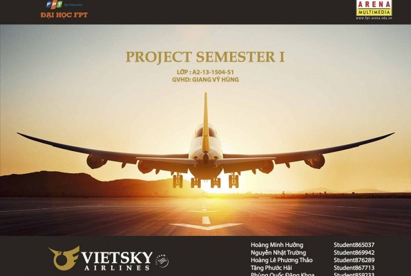 VietSky Airlines – 1504S1