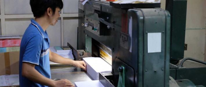 Khám phá quy trình in ấn hiện đại