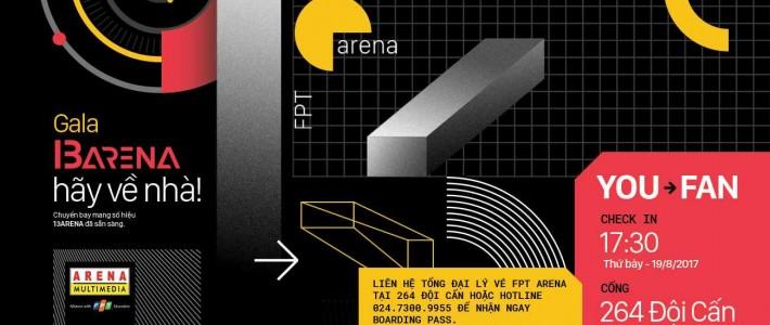 FPT Arena tặng 3000 vé máy bay cho các cựu sinh viên về nhà nhân dịp sinh nhật lần thứ 13