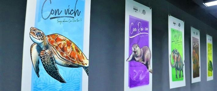 FPT Arena Multimedia tổ chức triển lãm mỹ thuật dành cho sinh viên