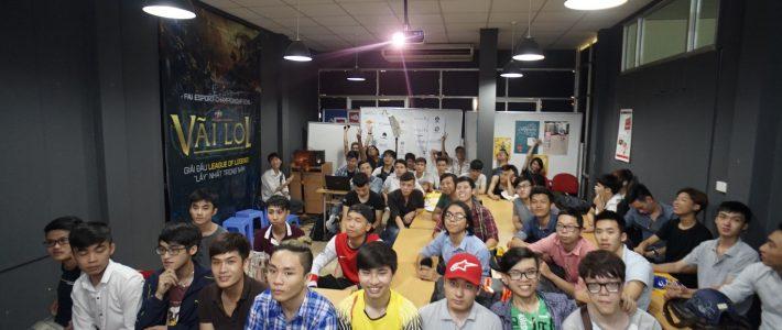 """Hơn 150 sinh viên FAIC đến dự buổi khai mạc giải đấu Esport """"VÃI LOL"""" tại FPT Arena"""